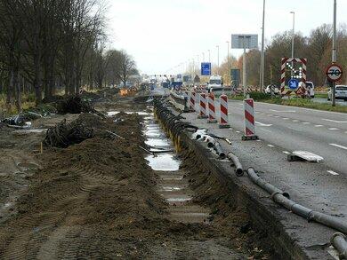 Afsluitingen Halfweg ivm A200/N200