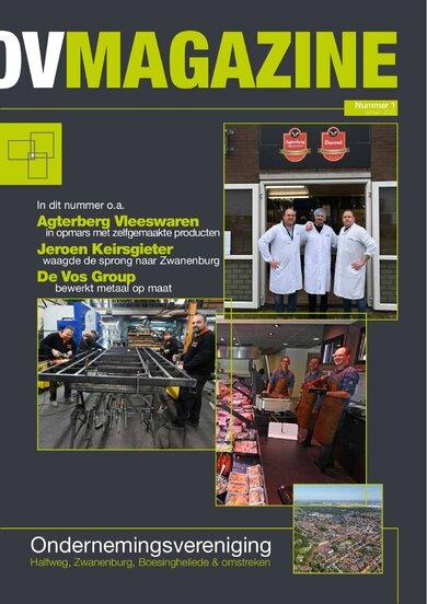 Primeur: Ondernemingsvereniging Magazine!