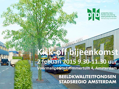 Kick-off beeldkwaliteitfondsen Stadsregio Amsterdam