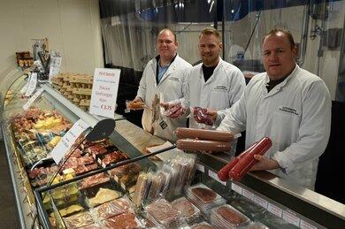 Agterberg Vleeswaren in opmars met zelfgemaakte producten